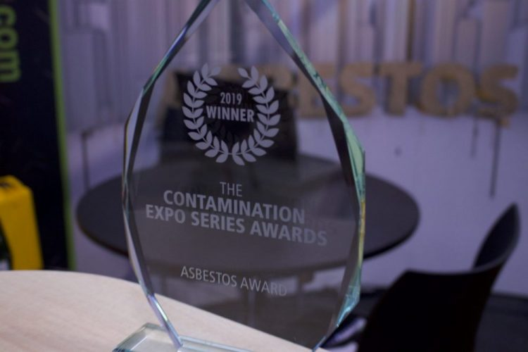 Contamination Expo 2019 – Asbestos Award winner!